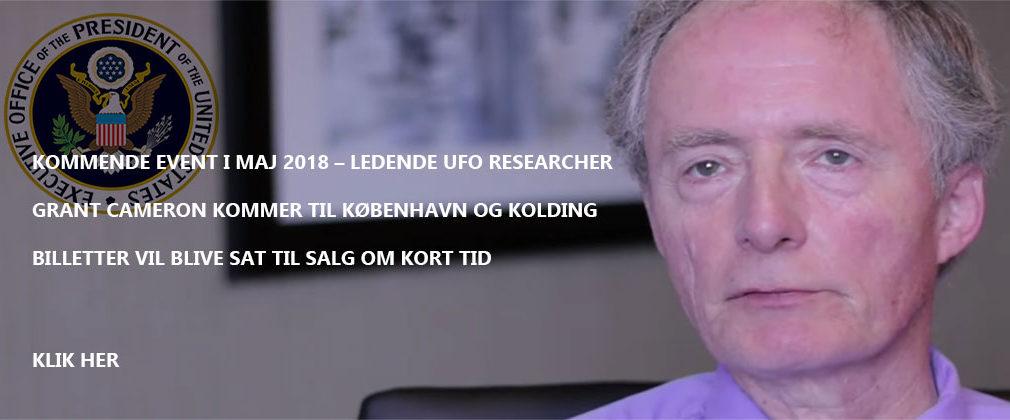 Grant Cameron - UFO Researcher i Danmark